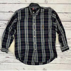 Ralph Lauren Chaps Long Sleeve Plaid Shirt